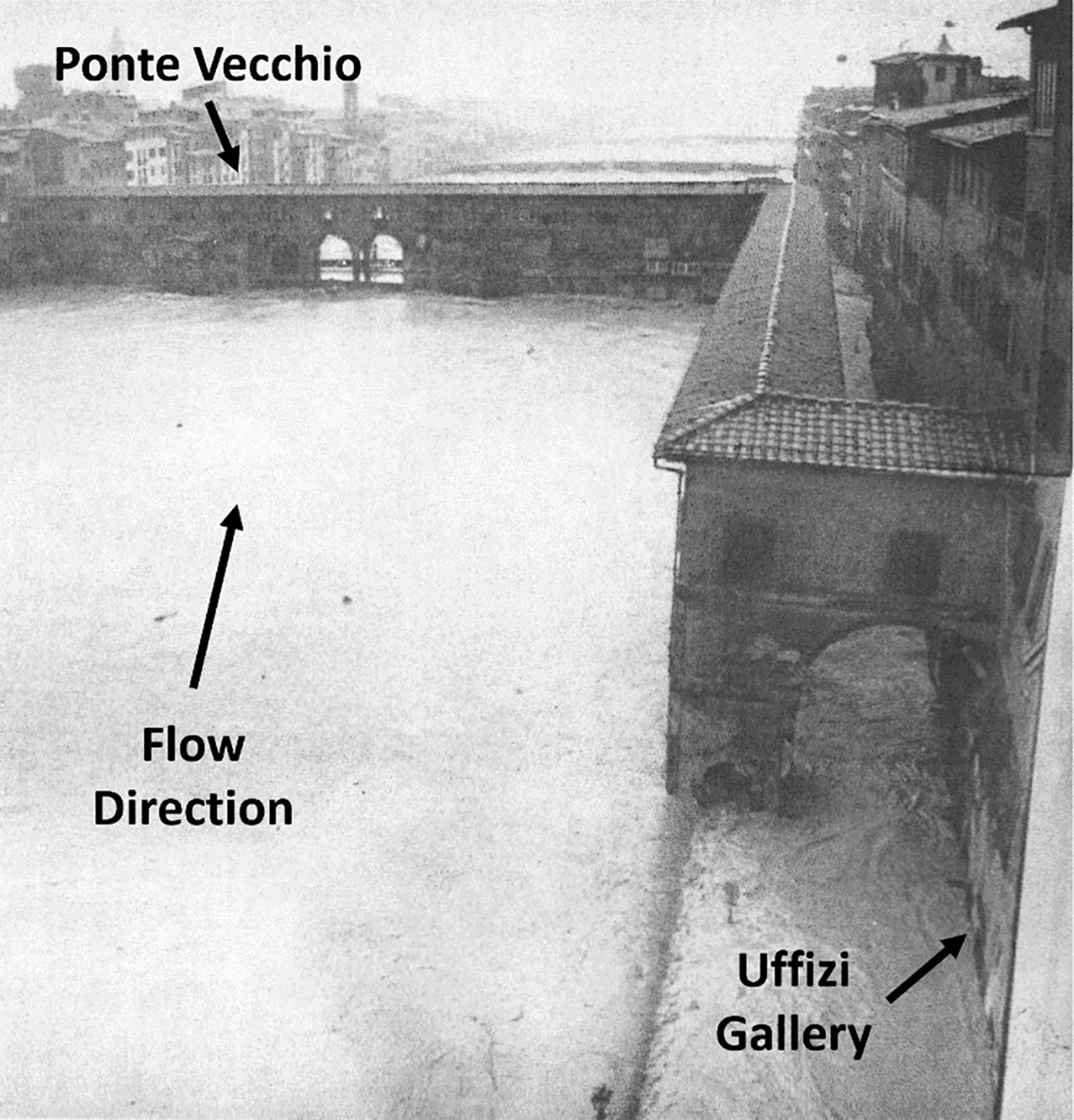 Florence during the flood of November 4 1966